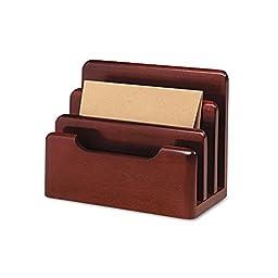 ROL23420 - Rolodex Wood Tones Desktop Sorter
