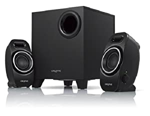 Creative A250 (2.1) Speaker System with Down firing Ported SubwooferCustomer review and more information