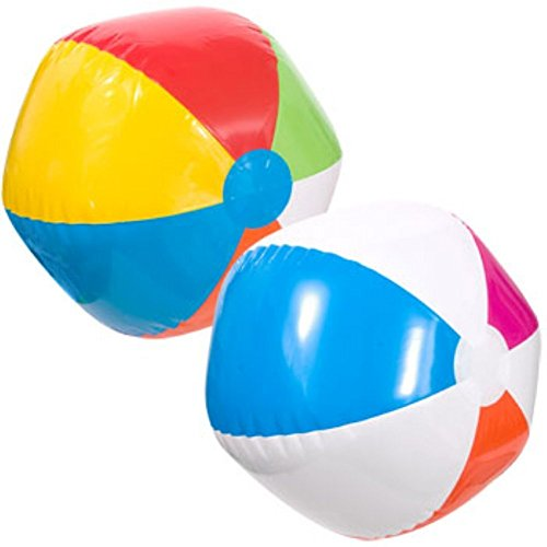 "SPLASH-N-SWIM MULTICOLOR BEACH BALL 20"" (3 Pack)"