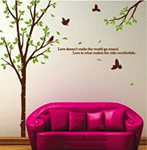 WallStickersUSA Large Tree Wall Sticker Decal for Home Decor from WallStickersUSA