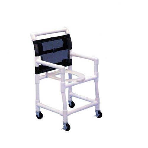 Aqua Creek F-6013DSC 22 in. Wide Deluxe PVC Shower/Commode Chair