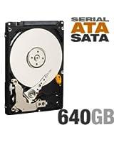 Generic Disque Western Digital 640Go 2.5 SATA 5400Tpm p/Portable/PS3 WD6400BEVT