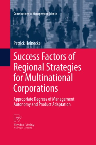 success-factors-of-regional-strategies-for-multinational-corporations-appropriate-degrees-of-managem