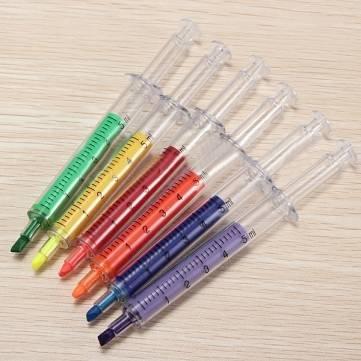 colorido-aguja-creativa-tubo-resaltador-pluma-fluorescente-marcador