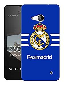 "Humor Gang Soccer Football Club Printed Designer Mobile Back Cover For ""Nokia Lumia 550"" (3D, Matte, Premium Quality Snap On Case)"