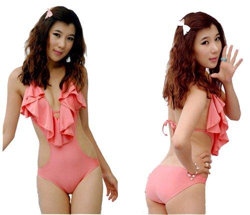 Damen Schwimmanzug Bikinis Sexy
