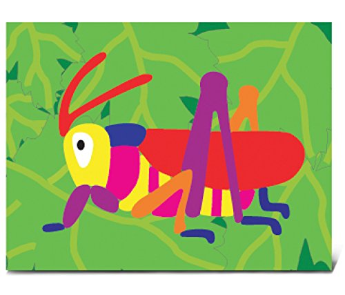 Puzzled Grasshopper Wooden Fun Puzzle - 1