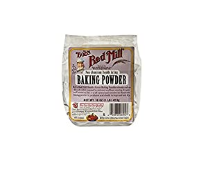 Bob's Red Mill - Baking Powder Double Aluminum Free Acting Gluten Free - 16 oz.