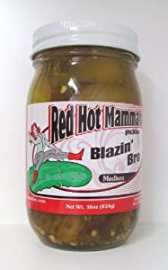 4 Jars Of Blazin Bro Cajun Sweet And Spicy Kosher Dill Pickles Med