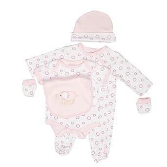 Zip Zap Baby Girl's 6-Piece Gift Set