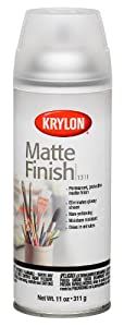 Krylon 1311 Aerosol Matte Satin Finish Spray Enamel 11 Ounce
