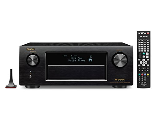 Great Deal! Denon AVR-X4100W 7.2 Network A/V Receiver with Wi-Fi, Bluetooth and Dolby Atmos