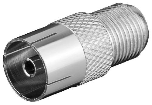 Adapter:F-Kupplung>Koaxial Kupplung; WE 1173 (F-jack>coaxial jack)