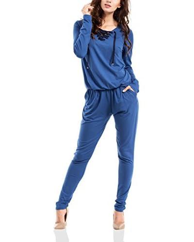 MOE Overall blau