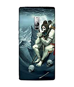 Chnno 3D Printed Back Cover For OnePlus 2 -Multicolor Shiva
