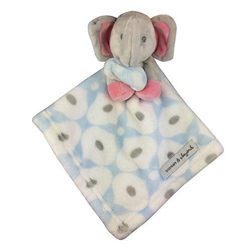 Wingingkids-Baby-Security-Blanket-Toy-Gift-Elephant
