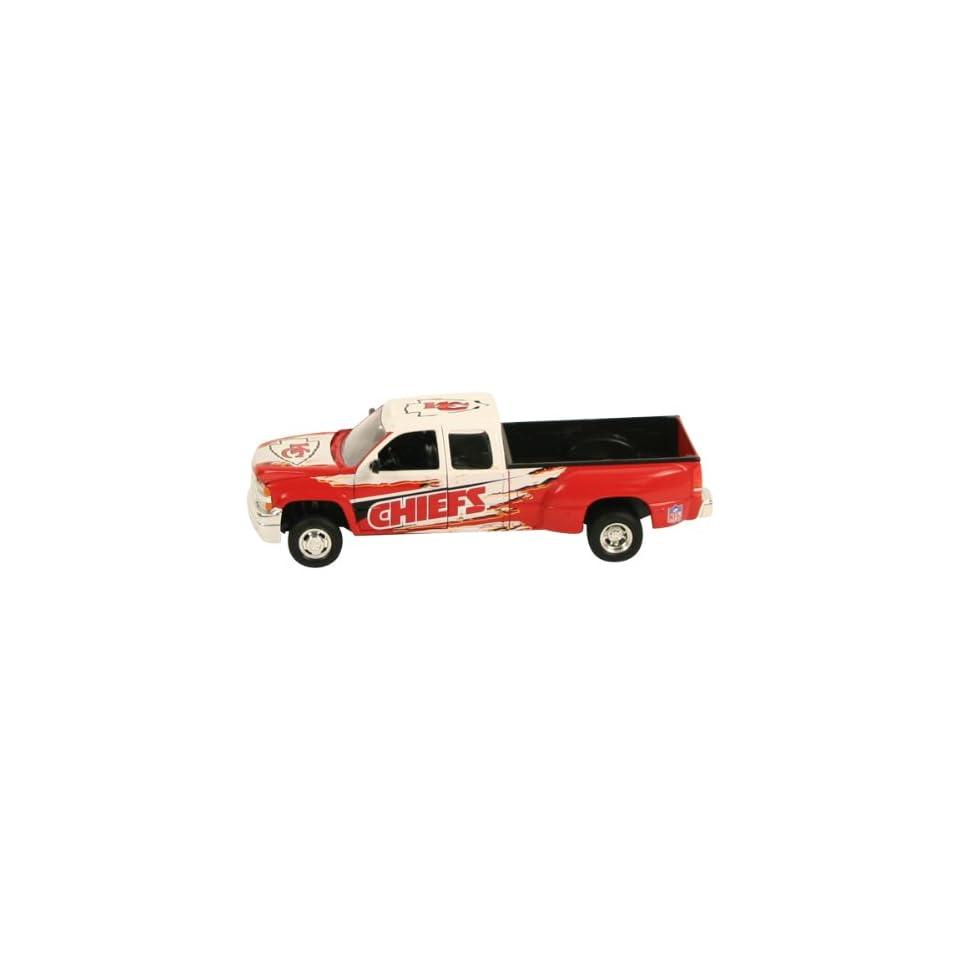 Kansas City Chiefs Diecast Chevy Silverado Pickup Truck (127 Scale)