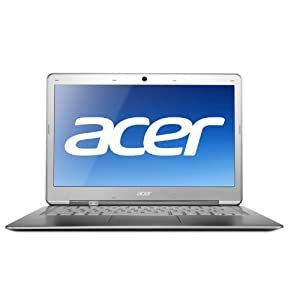 Acer Aspire S3-951-6432 13.3-Inch 4GB LED HD Display Ultrabook Notebook Computer with 1.7Ghz Intel Core i7 2657M Processor, 240GB SSD, 1.3MP Webcam, Bluetooth 4.0