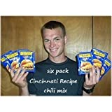 6 Pack Cincinnati Chili Mix Packets ~ Skytime, Inc.
