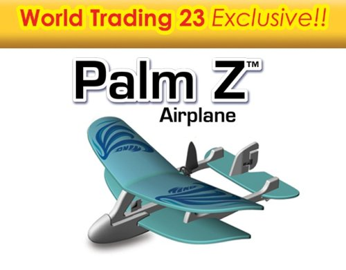 Buy World Trading 85659IR-BLU 23 Palm Z Remote Controlled Airplane – Blue