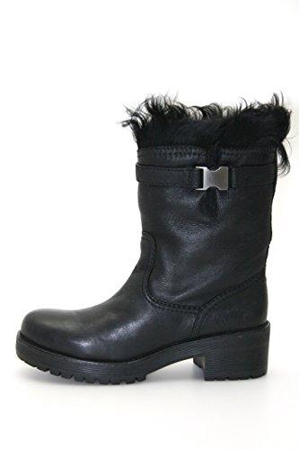 Prada Womens 3U5767 Leather Boots