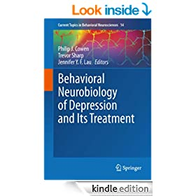 Behavioral Neurobiology of Depression and Its Treatment: 14 (Current Topics in Behavioral Neurosciences)