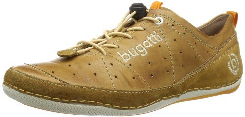 Bugatti Mens F24051 Low Brown Braun (cognac 644) Size: 14 (48 EU)