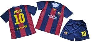 Barcelona Home #10 Messi Soccer Kids Sets Size 6