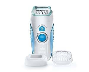 Ancienne Version Dual epilator sans fil Braun Silk-épil 7 7771 Wet & Dry avec technologie Gillette Venus, 2 accessoires