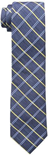 Nautica Men's Lookout Grid Tie, Yellow, One Size