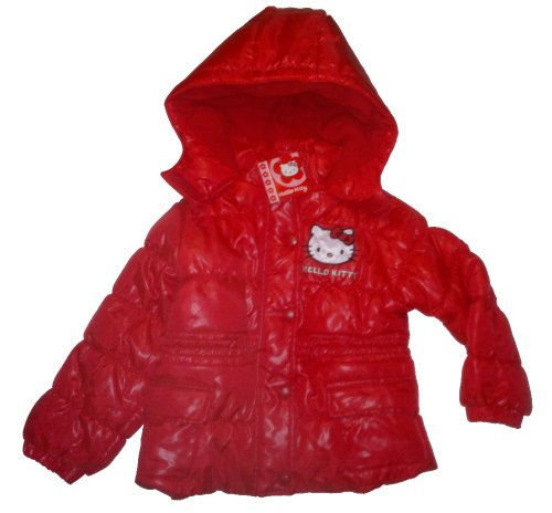 HELLO KITTY Hooded Winter Jacket -red