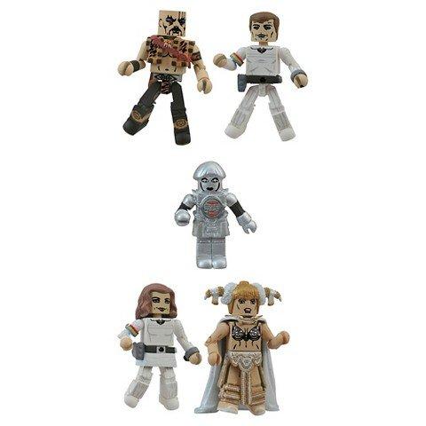 Diamond Select Toys Buck Rogers Minimates Box Set