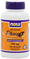 NOW Foods Phase 2 Starch Neutralizer 500mg 120 Vegetarian