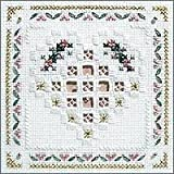 Floral Heart Cross Stitch Kit
