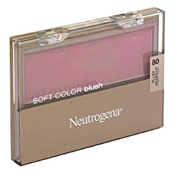Neutrogena Soft Color Blush, Plum Perfect 80, 0.16 Ounce (4.5 g) (Pack of 2)