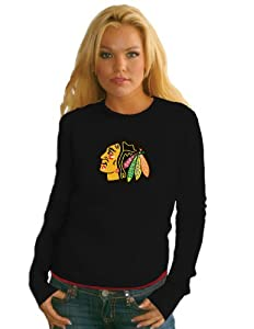NHL Chicago Blackhawks Baby Thermal, Medium, Black