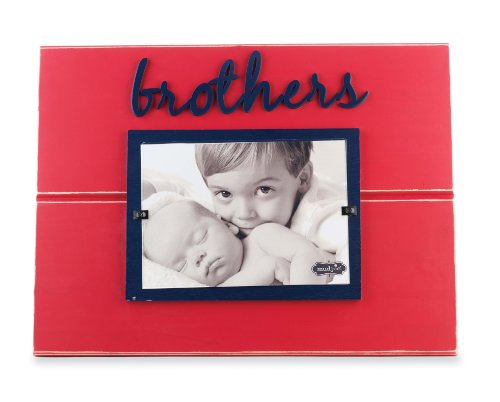 Mud Pie Brothers Wooden Photo Frame (Mud Pie Brothers Frame compare prices)