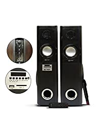 Cursor DJ-12000W 2.0 Tower Speakers With USB/SD/FM/REMOTE and Mic