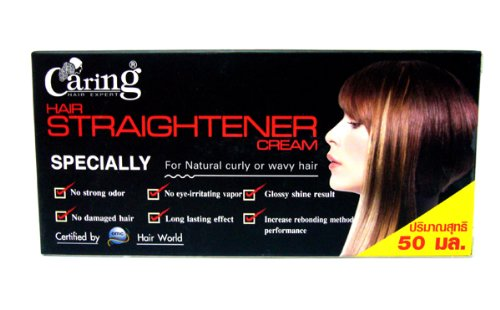 Caring Hair Straightener Straightening Cream Relaxer Certified By Hair World