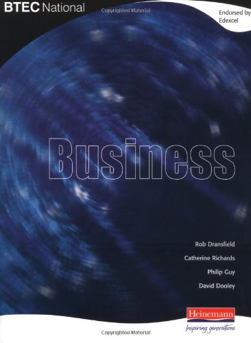 BTEC National Business: Student Book