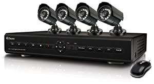 Swann SWDVK-425504 S 4-Channel Digital Video Recorder with Smartphone Viewing and 4 x PRO-550 Cameras