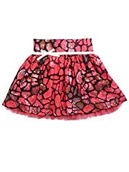 SuperYoung Girls' Neon Pink Skirt