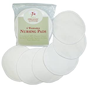 Tl Care Organic Cotton Nursing Pads Natural