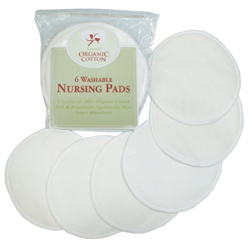 TL Care Organic Cotton Nursing Pads