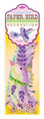 eeBoo Purple Floating Bird - 1