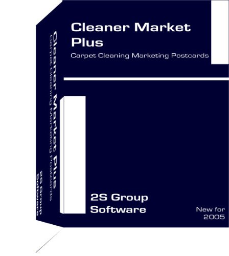 Cleaner Market Plus - Carpet Cleaning Marketing Postcards Cdrom