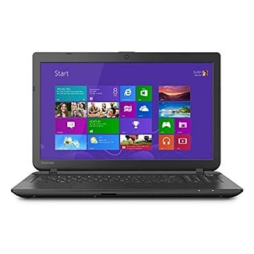 Toshiba Satellite C55-B5100 15.6 Laptop PC -Intel Celeron / 4GB Memory / 500GB HD / DVD±RW/CD-RW / Webcam / Windows 8.1 64-bit