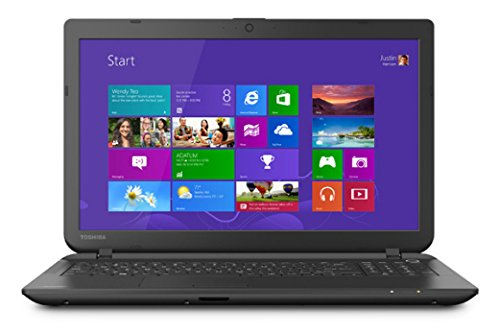 Toshiba Satellite C55-B5100 15.6″ Laptop PC -Intel Celeron / 4GB Memory / 500GB HD / DVD±RW/CD-RW / Webcam / Windows 8.1 64-bit