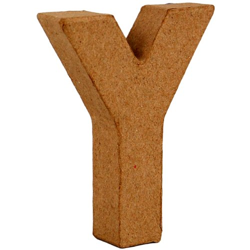 country-love-crafts-4-inch-10cm-3d-letter-y-papier-mache