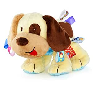 Taggies tag n play buddy dog amazon co uk baby